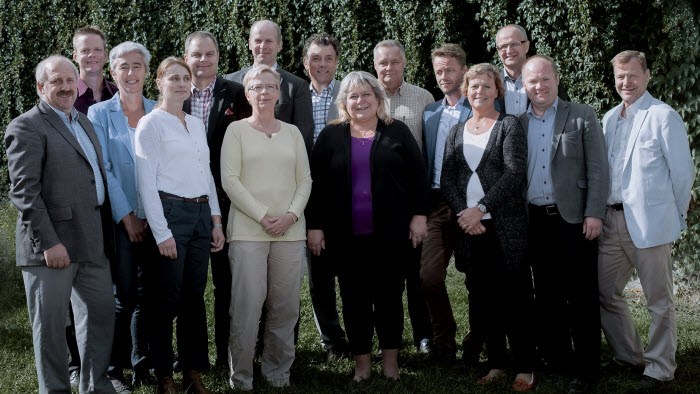 Mjölkdelegationen september 2014